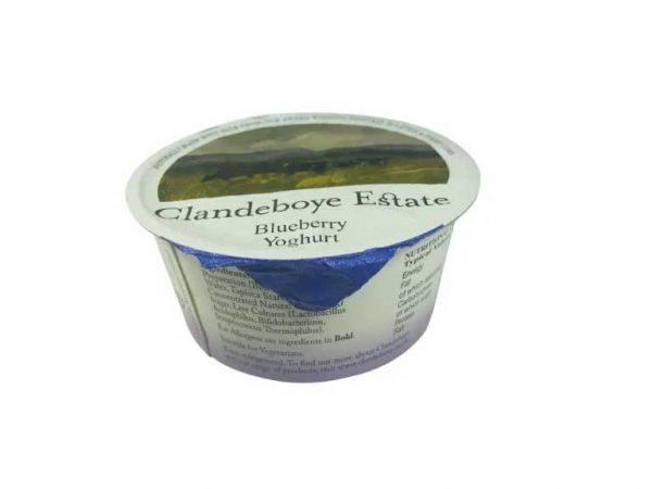 Clandeboye estate blueberry yoghurt