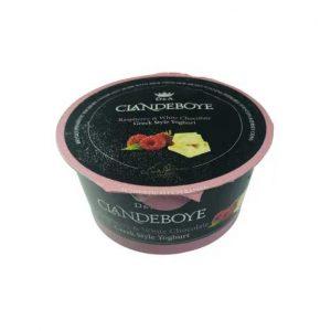 Clandeboye R'berry & white choc