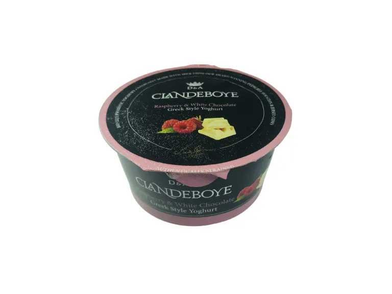Clandeboye estate raspberry & white choc