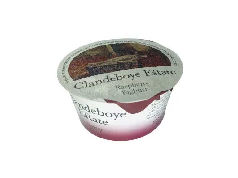 Clandeboye estate raspberry yoghurt