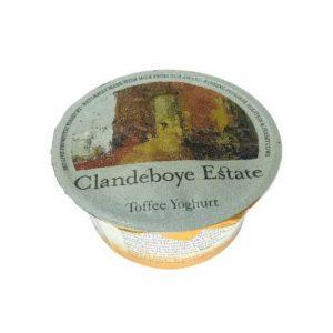 Clandeboye estate toffee yoghurt