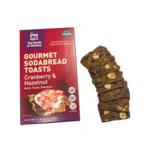 Gourmet Sodabread Toasts (Cranberry & Hazelnut)
