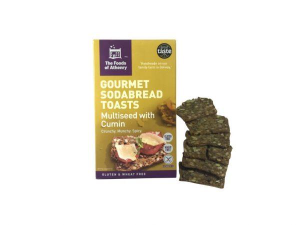 Gourmet Sodabread Toasts (Multi Seed & Cumin)