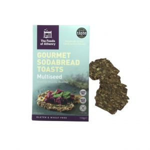 Gourmet Sodabread Toasts (Multiseed)