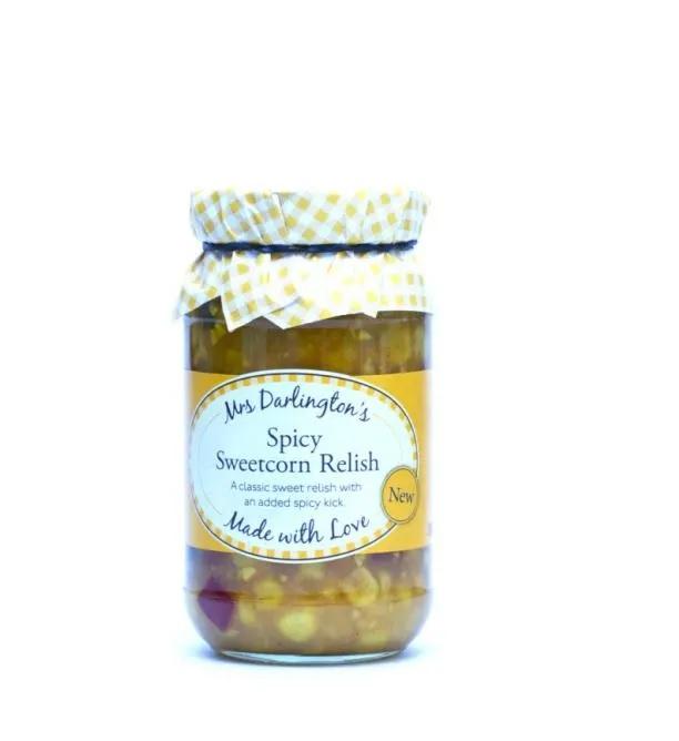 Spicy Sweetcorn Relish