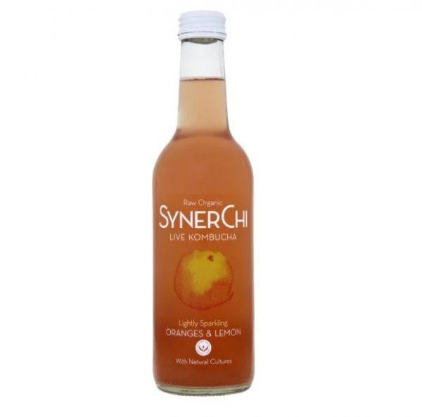 Synerchi Kombucha Orange & Lemon